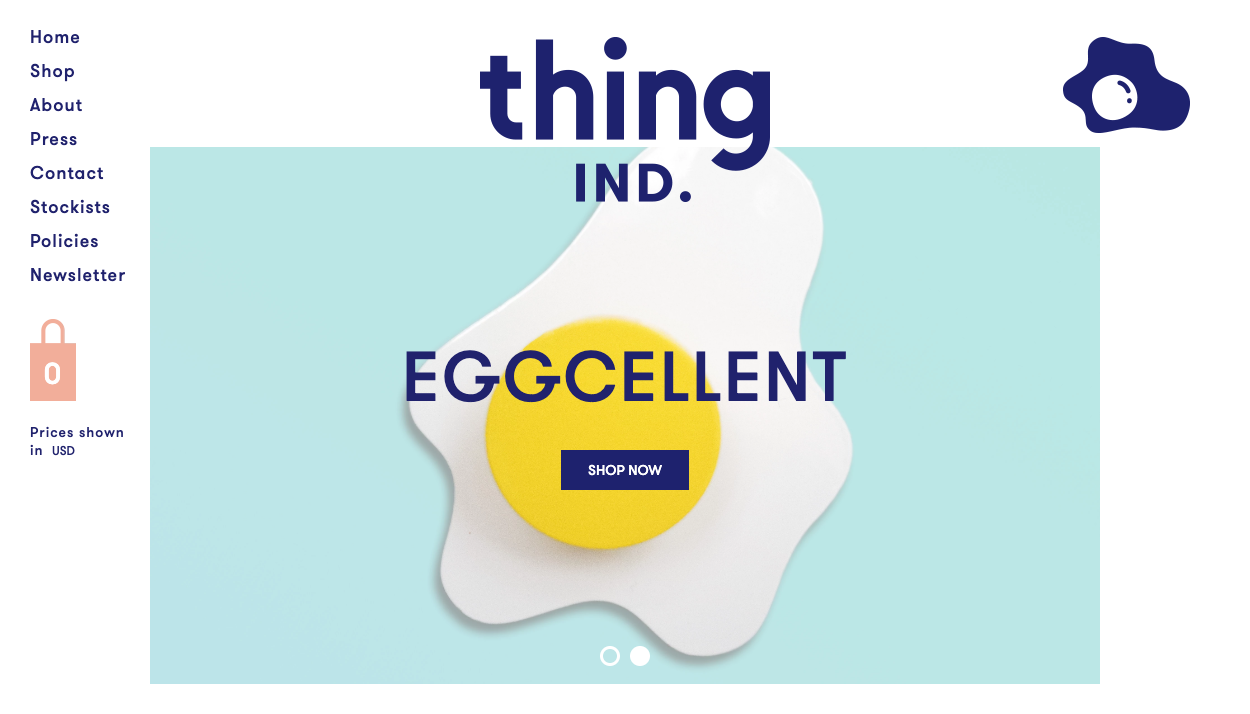 thing industries exemple webdesign